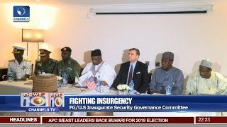FG/U.S Inaugurate Security Governance Committee Pt.2  News@10  22/01/18