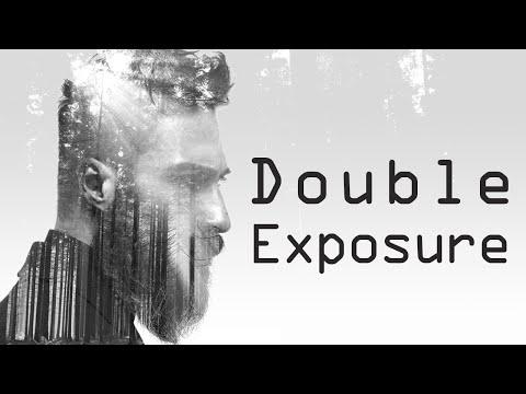 أسهل طريقه لعمل تأثير الـDouble Exposure بالفوتوشوب