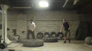 WWFS Condit1 Tire Sledge