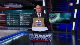 Oilers earn the first overall selection in 2015 NHL Draft