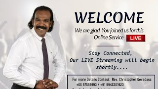 Wednesday Prophetic Service - 05.08.2020 | Apostle.Christopher Devadass | My El-Shaddai Tv