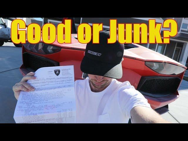 First Major REPAIR Bill on my Lamborghini Aventador