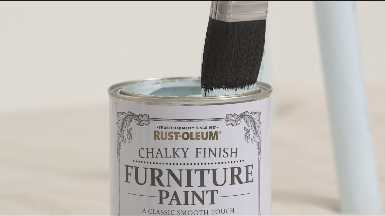 How To Use Rust Oleum Chalky Finish