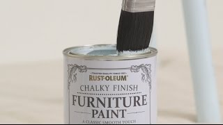 How to Use Rust-Oleum Chalky Finish Furniture Paint