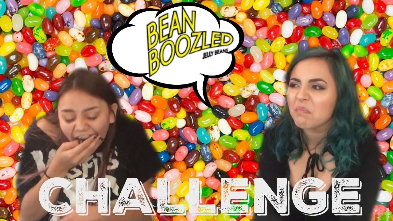 The Bean Boozled Challenge ft. My Sister