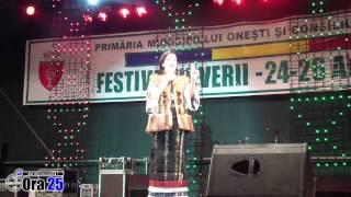 Viorica Macovei la Festivalul verii 2012 Onesti