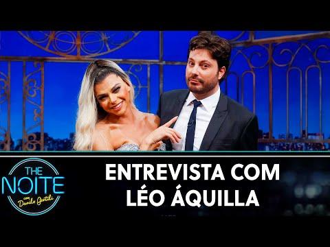 Entrevista com Léo Áquilla  The Noite 020919