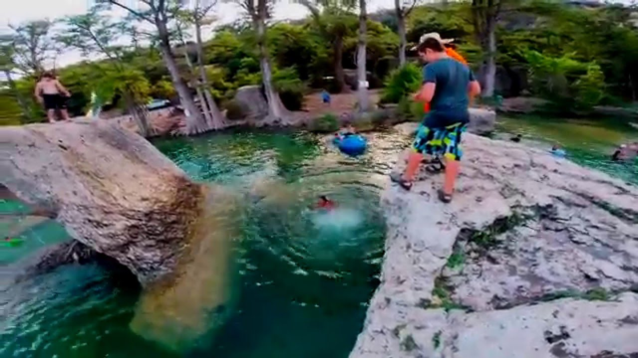 Concan Texas July 2015 at Neals Lodges  YouTube
