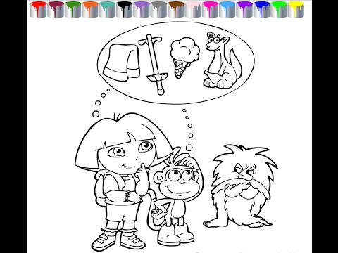 dora-coloring-pages-for-kids