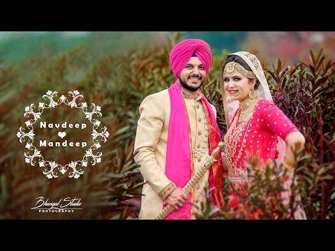 Traditional Punjabi Wedding | NAVDEEP & MANDEEP | Extended Wedding Highlights | Bhangal Studio |