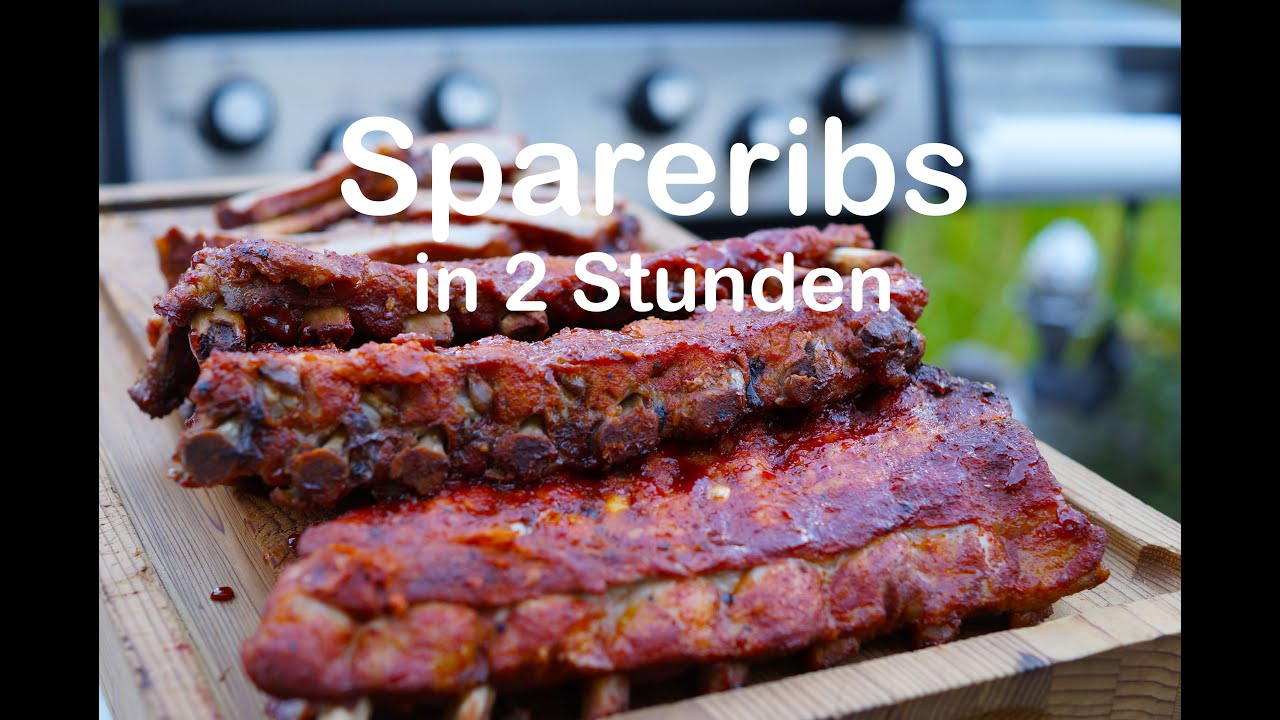 Spareribs Gasgrill Broil King : Spareribs in stunden auf dem gasgrill youtube