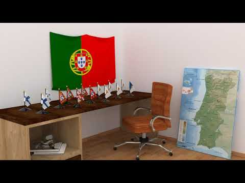 Himno y banderas de Portugal | Portugal flags and anthem