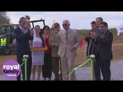 Prince Charles inaugurates solar energy project in Cuba