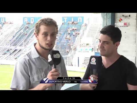 Primera C: Deportivo Merlo vs Luján EN VIVO Fecha 16