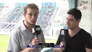 Dep. Merlo vs Club Luján full match