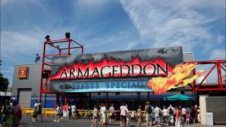 Armageddon - Préshow EN - Walt Disney Studios Park - Disneyland Paris - Soundtrack