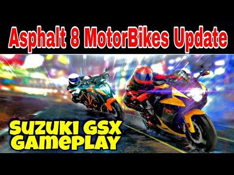 Asphalt 8 Updating to Max Suzuki GSX,New Carrier Mode Gameplay