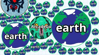 Agar.io Solo Kraken Monster From Hero To Zero! (Agario Funny Moments)
