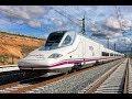 High-Speed Train Ride Malaga-Madrid Spain Renfe / Поездка На Скоростном Поезде Малага-Мадрид Испания