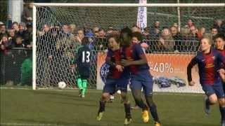 FC Barcelone  Chelsea FC  demi-finale Kappa Leclerc mini mondial 2013