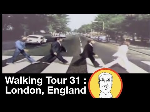 Walking Tour 31:  London - Part 2:  Beatles Abbey Road, etc.