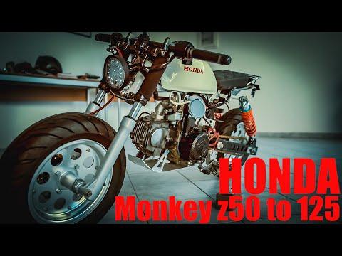 Honda monkey z50 to 125 custom - a7iii