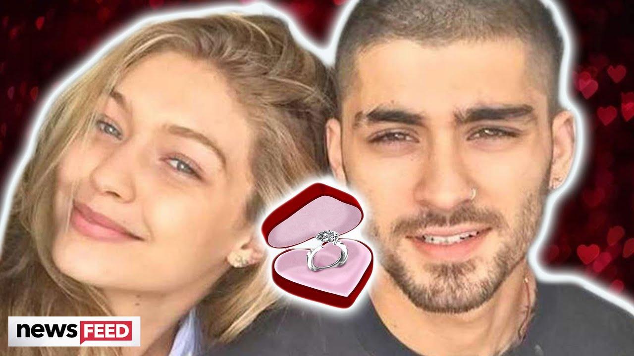Zayn Malik FUELS Gigi Hadid Engagement Rumors!!!