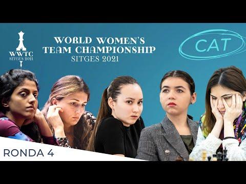 ROUND 4 [CAT] - World Women's Team Chess Championship 2021