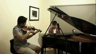 """A Thousand Years"" - Christina Perri Instrumental Cover by Daniel & Russell [HD]"