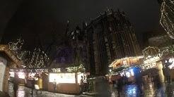 Weihnachtsmarkt zu Aachen (NRW) 2018 Großstadt Aachen Weihnacht X-Mas Videolog mampfen und bewerten