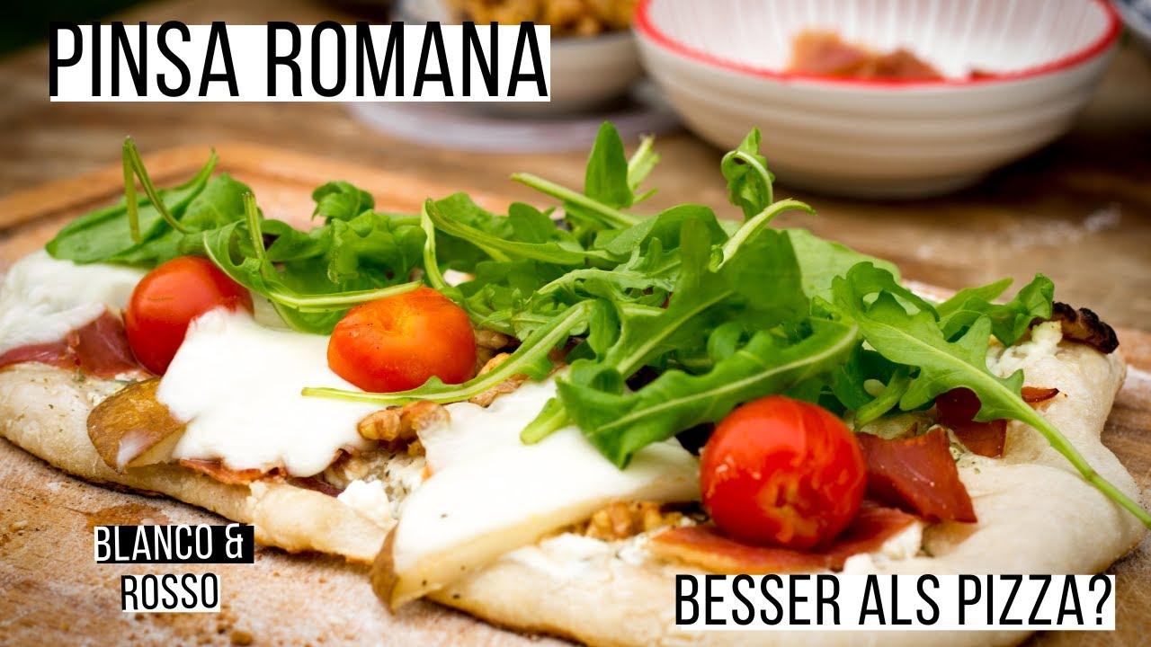Pinsa Romana besser als Pizza Napoli 🍕   Spezialität aus Rom   Rezept by  Daughter & Dad's Sizzlezone