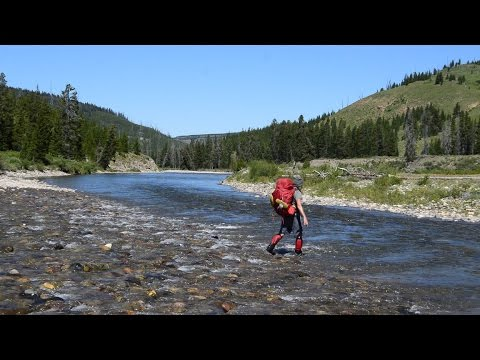 Backpacking Yellowstone National Park:  A 4 Day Snake River, Heart Lake, South Boundary Loop