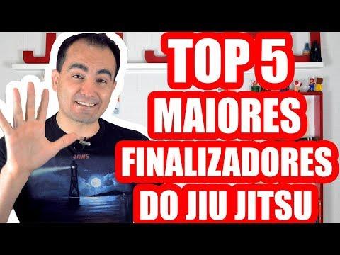 TOP 5- Maiores FINALIZADORES do Jiu Jitsu