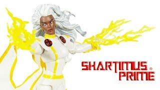 Marvel Legends Storm 2019 Vintage Collection  90's X-Men Comic Hasbro Action Figure Toy Review