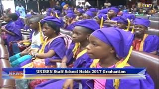 UNIBEN staff school holds 2017 graduation