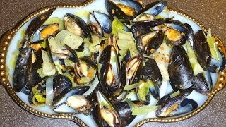 Feast of the Seven Fishes On Christmas Eve - Mediterranean Mussels Recipe