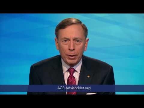 General (Ret.) David H. Petraeus Supports ACP AdvisorNet