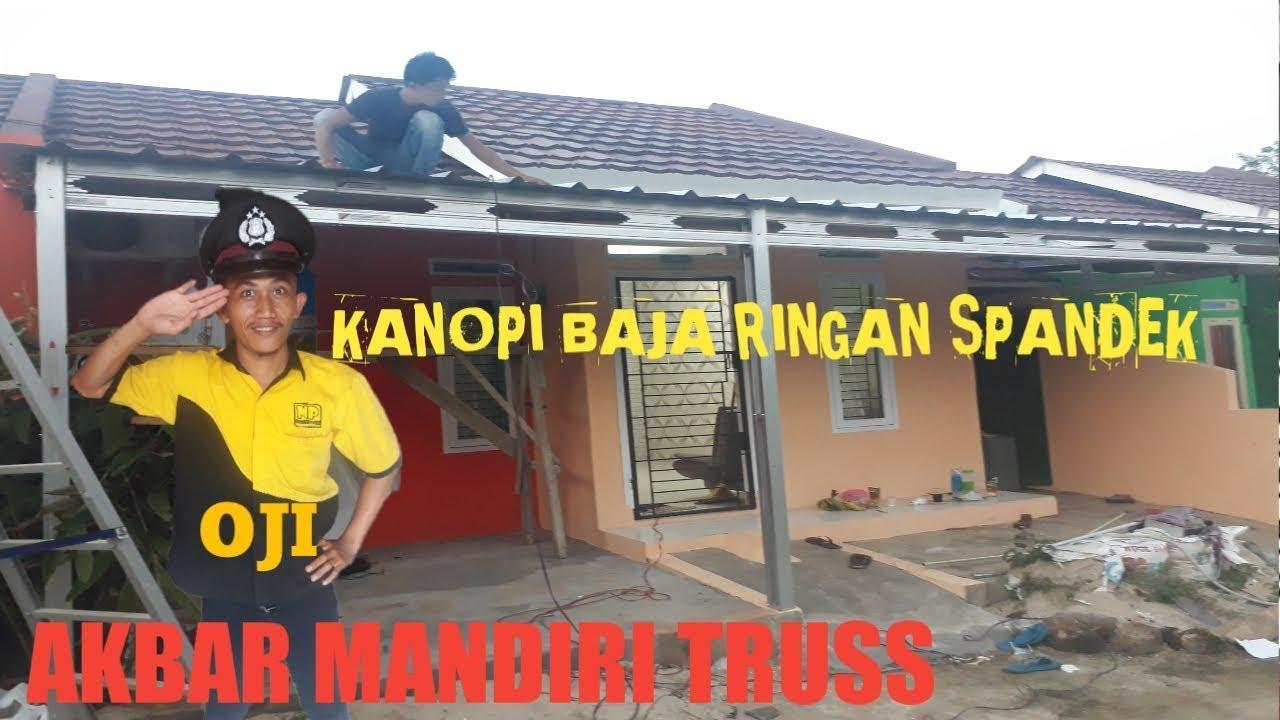 Olx Baja Ringan Lampung Pemasangan Kanopi Spandek Youtube