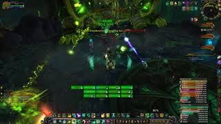 WoW Fist - Mistweaver Heal Monk Antorus, the Burning Throne Argus Raid Garothi Worldbreaker POV
