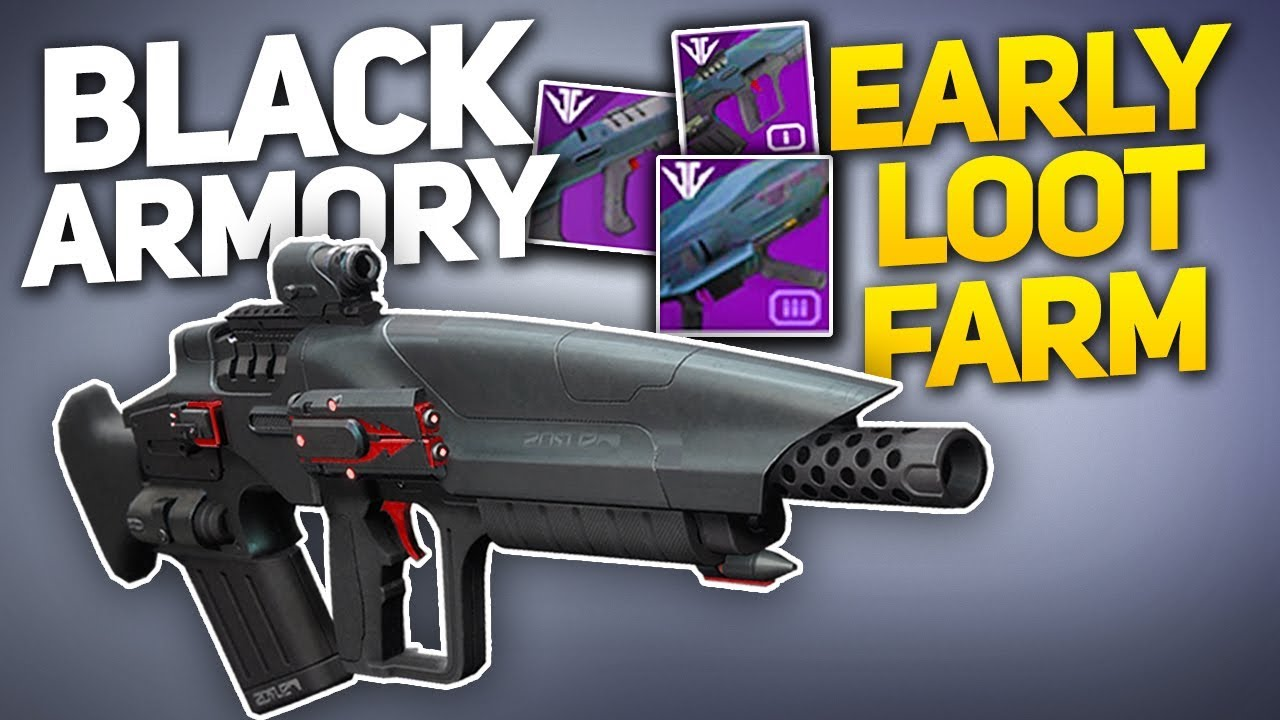 black armory weapons