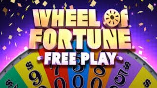 Wheel Of Fortune - Free Play