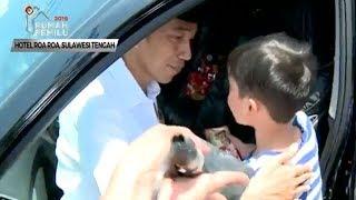Curhat Bocah Piatu Korban Gempa yang Ingin Ikut Jokowi: Kalau Saya Nangis, Mamaku Nangis Juga