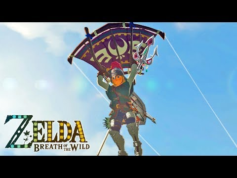 O Lar dos Homens Pássaros - The Legend of Zelda Breath of the Wild 15 - Nintendo Switch