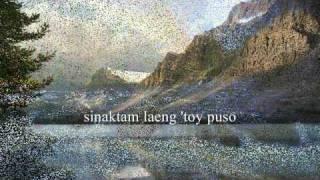 TA DENNAM AWAN NAGBASOLAK(F) (ILOCANO SONG w/LYRICS)