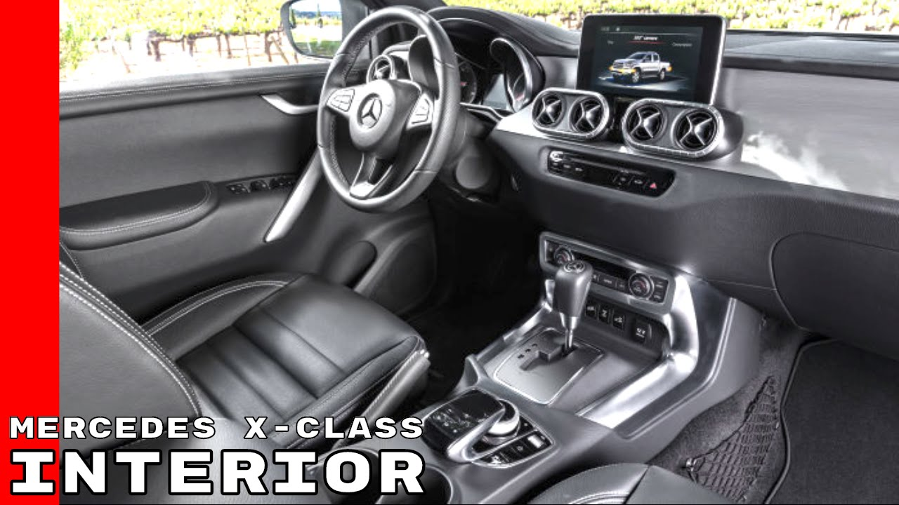 Mercedes X Class Pickup Truck Interior - YouTube