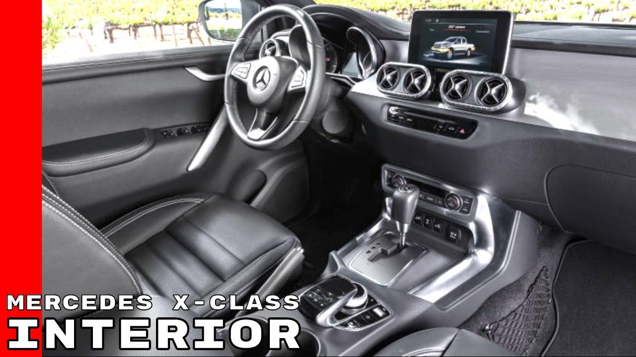 Mercedes X Class Pickup Truck Interior - YouTube