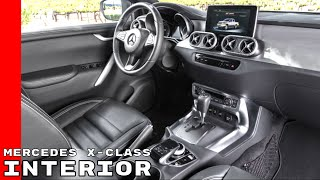 Mercedes X Class Pickup Truck Interior