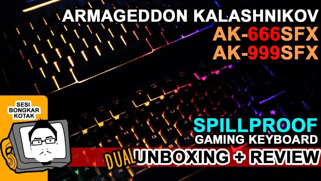 Armageddon Kalashnikov Ak 666sfx 999sfx Imperion Mech7 87keys Mechanical Gaming Keyboard