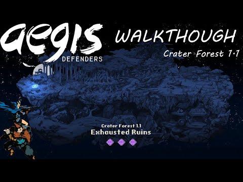 Aegis Defenders (PC)   Walkthough (Exhausted Ruins)  