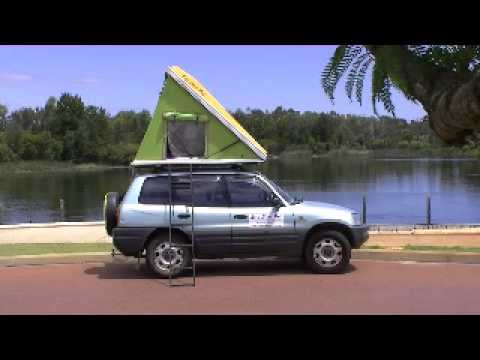 & Roof Top Tent - the Eezy Sleep Pod - YouTube